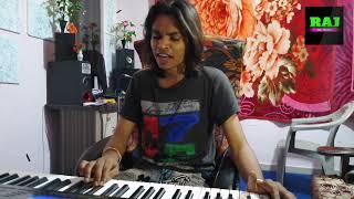 Bhajan Singing //ARJUN R MEDA //PIANO PLYING //RAJ MUSIC