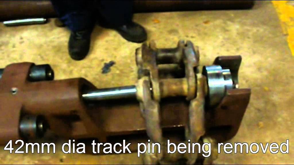 John Deere For Sale >> Track Link Pin Press, Bemco Hytech Pvt Ltd - YouTube
