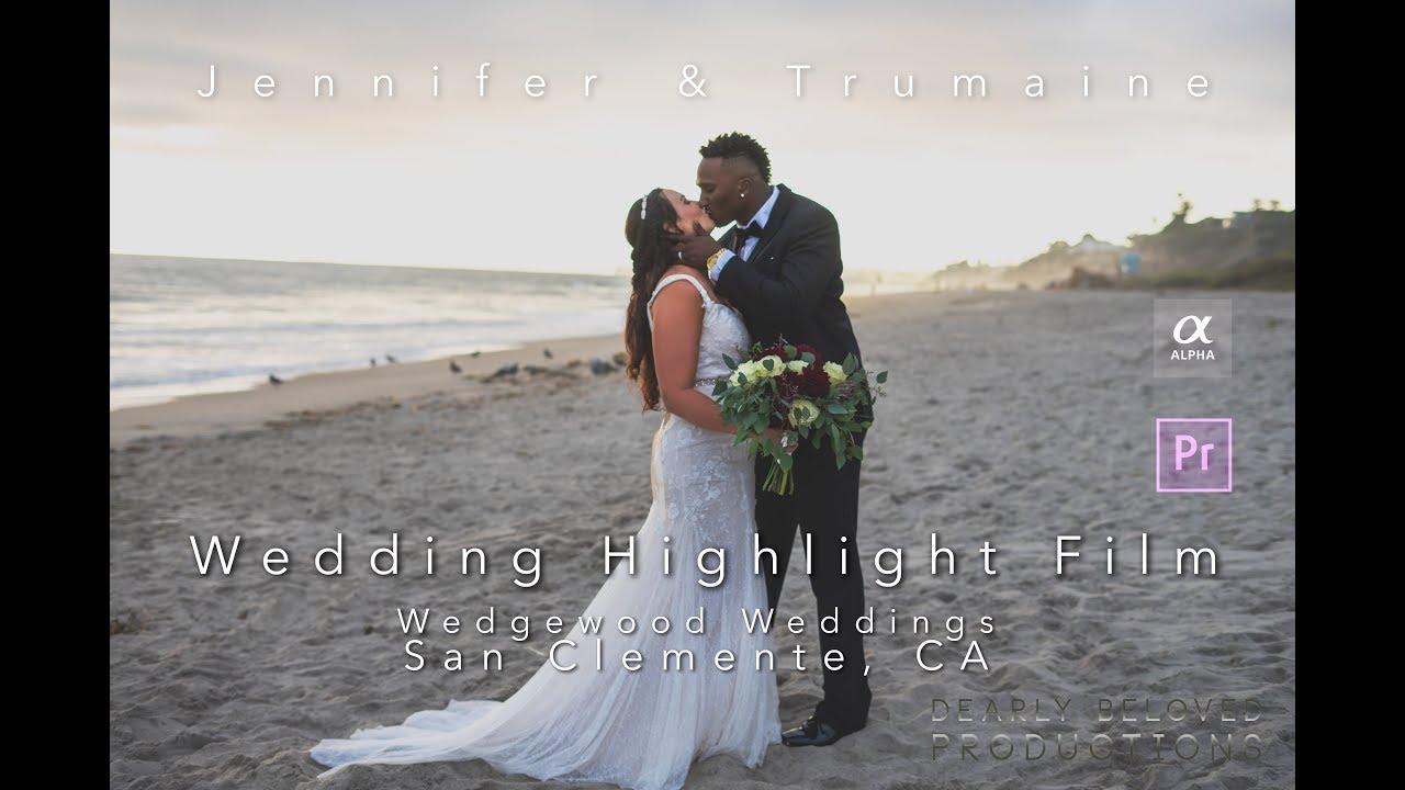 Wedgewood Weddings Wedding Videography | Jennifer & Trumaine Highlight Film | San Clemente, CA