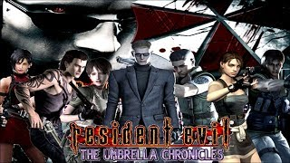 RESIDENT EVIL: The Umbrella Chronicles All Cutscenes (Game Movie) 1080p 60FPS