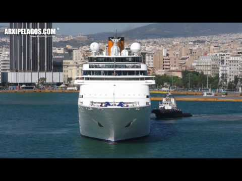 Costa neoClassica - Departure from the port of Piraeus (Greece)