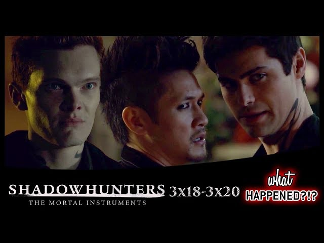 SHADOWHUNTERS 3x18 - 3x20 Recap: Proposals, Sacrifices & Goodbyes - Series Finale Promo