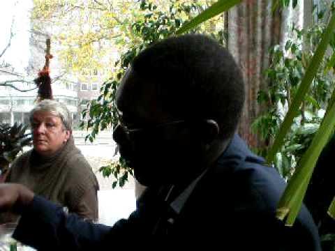 Vortrag über Abdoulaye Sadji und Aime Césaire bei Mama Afrika in Berlin
