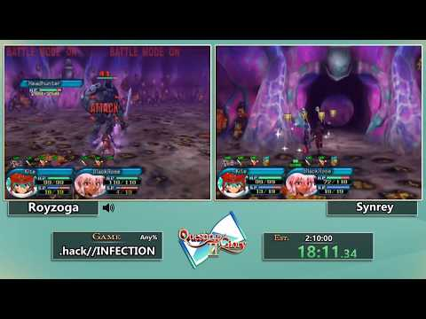 Questing For Glory 2: .hack//INFECTION Any% Race With Royzoga And Synrey