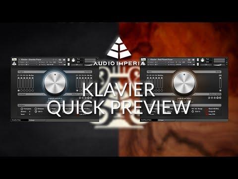 "Audio Imperia ""Klavier"" (Gravitas Piano & Red Planet Piano) - Preview"