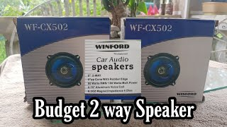 Winford CX502 Budget 2 way Speaker