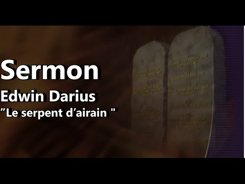 Journée de Jeunesse - 28 mai -  Edwin Darius