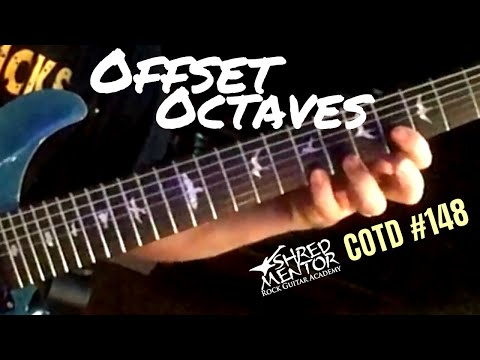 Offset Octaves | ShredMentor Challenge of the Day #148