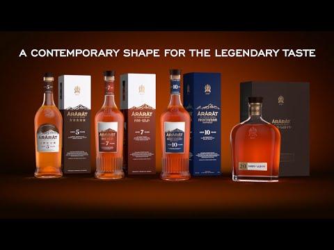 A Contemporary Shape For The Legendary Taste Of ARARAT Brandy