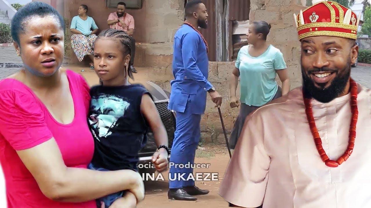 "Download The Poor Beautiful Single Mother & The President Son ""New Movie"" 3&4-Fredrick Leonard/Uju Okoli 2021"