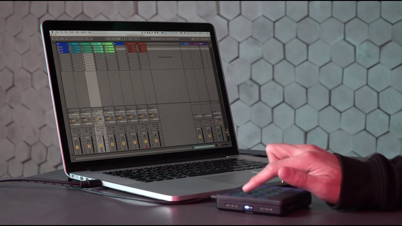 Ableton: Controlling Ableton Live clips and instruments with