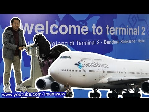 Cara keluar Bandara Soekarno-Hatta dari luar negeri