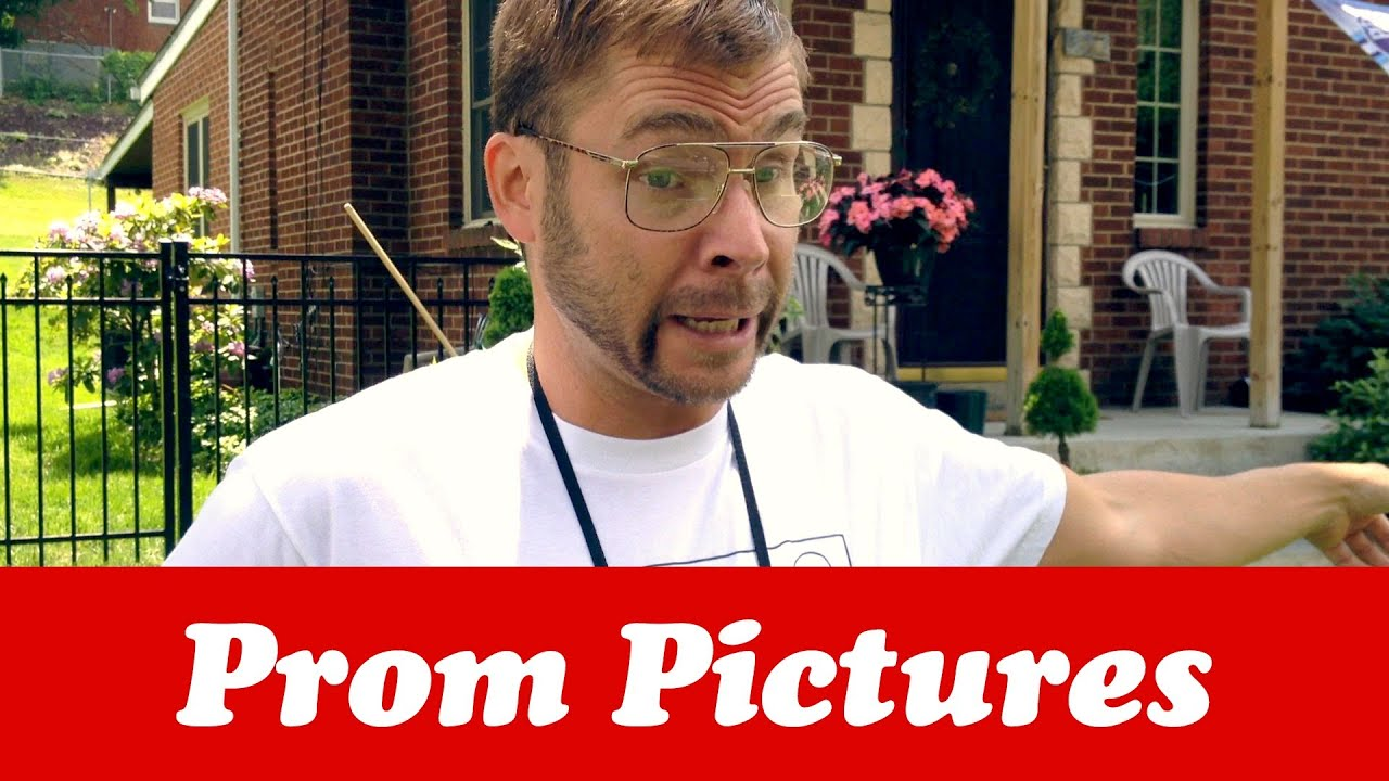 DAD TAKING PROM PICTURES