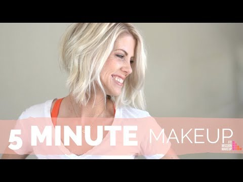 5 Min Makeup [Complete Fast Makeup and Hair look]