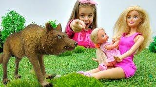 Мультик Барби - Штеффи заблудилась в лесу! Развивающие игры