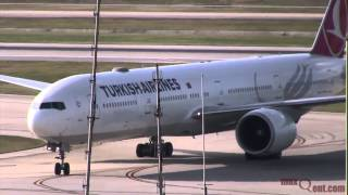 Turkish Airlines Inaugural Arrival at Houston IAH