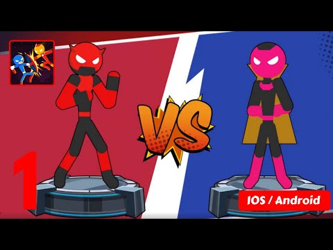 Stick Super: Hero - Strike Fight for heroes legend – IOS / ANDROID GAMEPLAY - #1
