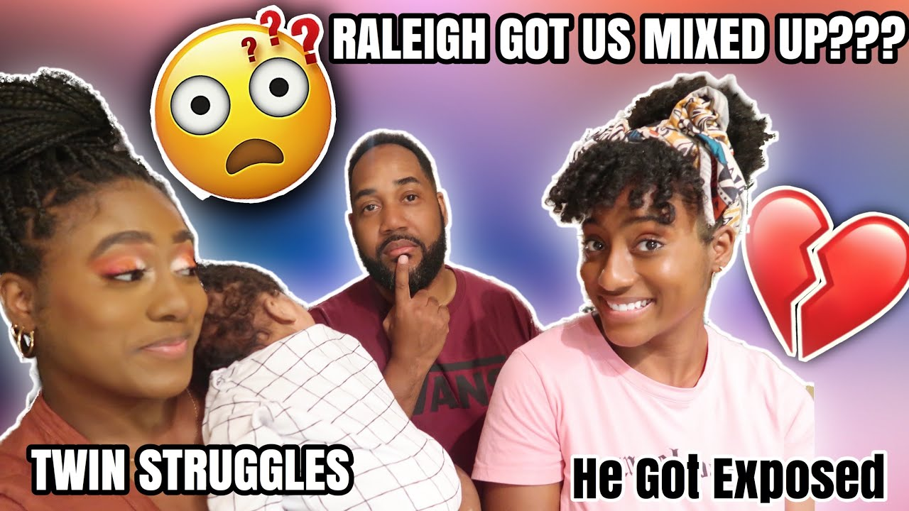 WHICH ONE IS MY WIFE?? | TWIN STRUGGLES ( HE GOT EXPOSED) 😳