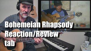Alip Ba Ta Bohemian Rhapsody Reaction Review with tab