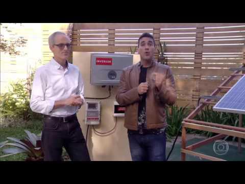 Energia Solar - Programa É de Casa da Globo