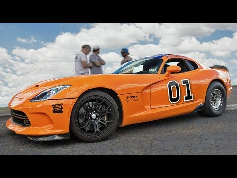 GENERAL LEE Would be Proud - 2,300hp Turbo Viper!