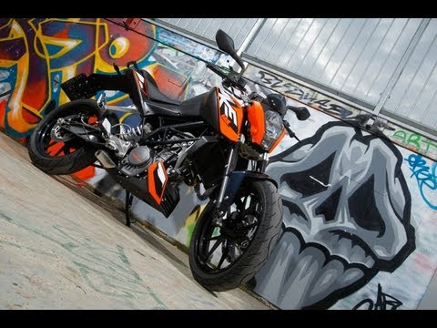 KTM 125 Duke 2011 - 1000PS TV