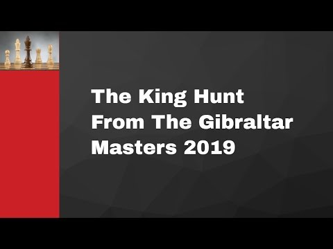 The King Hunt From The Gibraltar Masters 2019