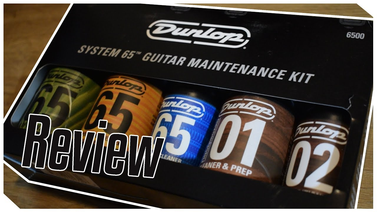 Electric Guitar Maintenance With The Dunlop System 65 Kit Youtube