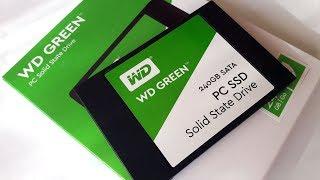 Western Digital WDS240G2G0A 240GB SATA Internal SSD (Green) Unboxing Telugu