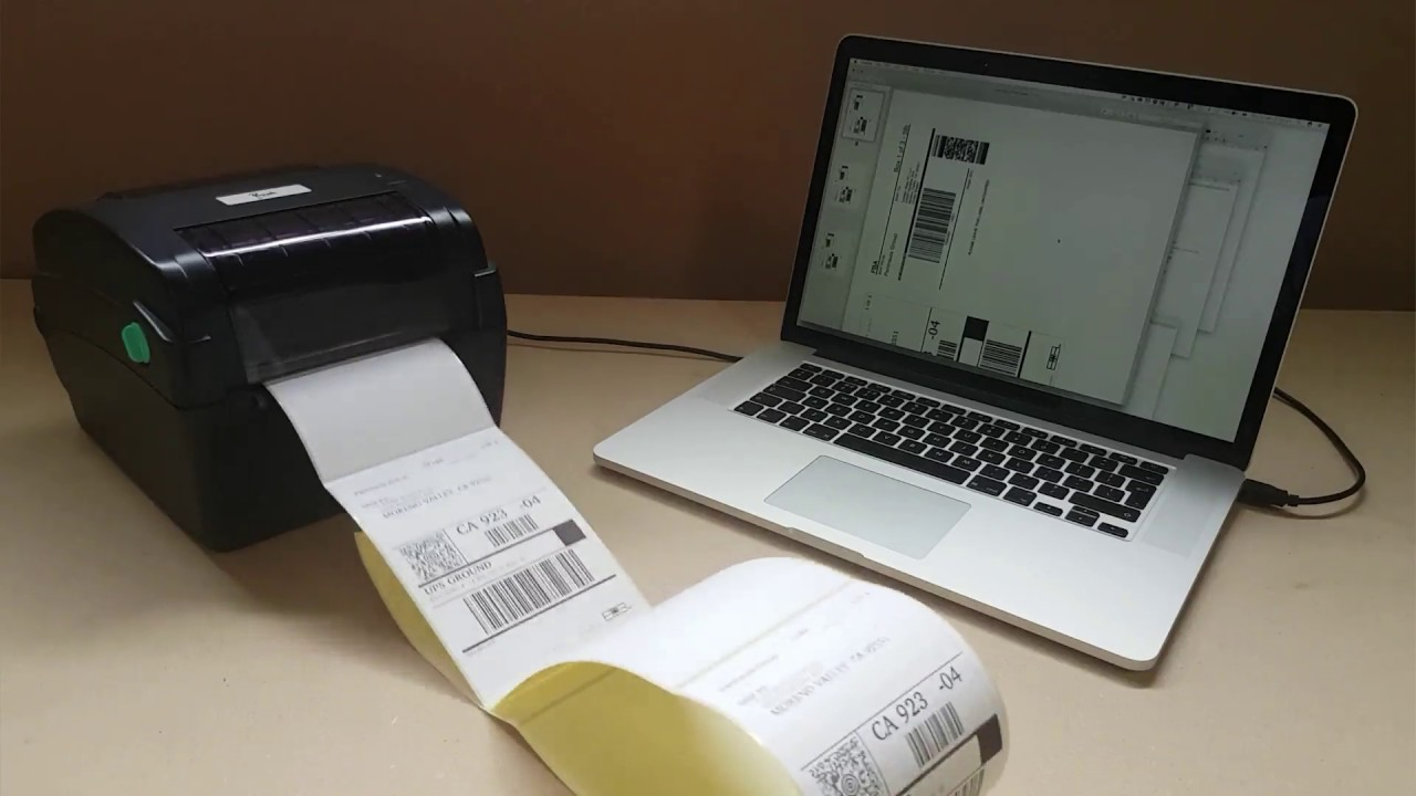High Speed Thermal Printer Driver for Mac - YouTube