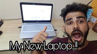 MY NEW LAPTOP...!! | Ft. HP Probook 450 G4 15.6