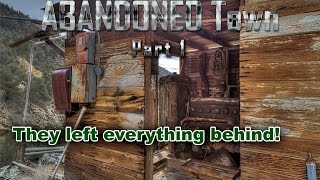 ABANDONED Time Capsule UNTOUCHED For 10 Years | 1800's GHOST TOWN