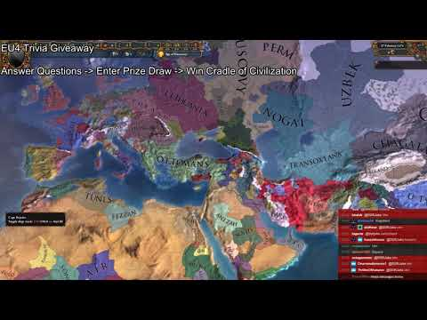 Cradle of Civilization Giveaway Stream