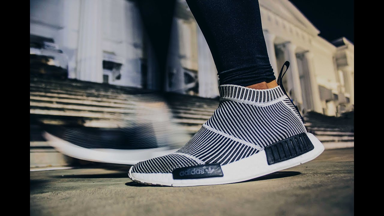 NMD City Sock 1 by adidas Originals (CS1 PK) - Review and On Feet - YouTube