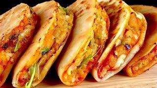 Breakfast | snacks ரெடி | Crispy Potato Tacos Mexicana