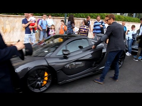 Jenson Button's McLaren P1 !