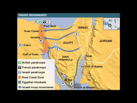 The suez canal crisis and its effects