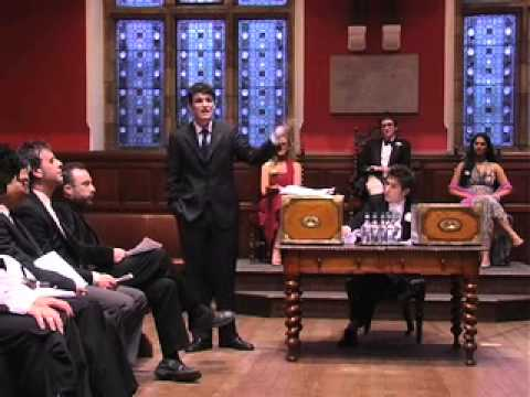 Oxford Union Debate: Internet and Democratisation, Part 1