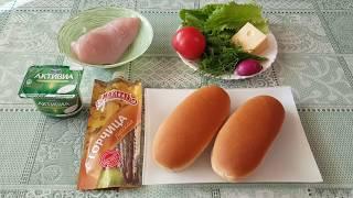 Для любителей бутербродов - 2 рецепта бутербродов с курицей