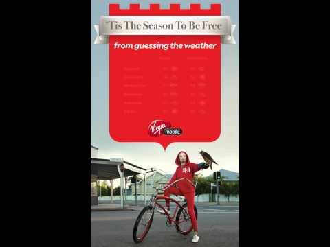 Virgin Mobile - Dynamic Weather Page