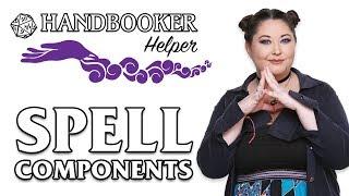 Handbooker Helper: Spell Components