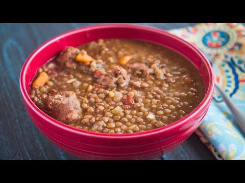 Pressure Cooker Umbrian Lentils And Sausage