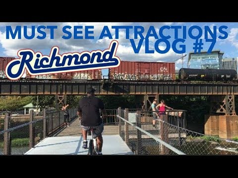 Richmond, Virginia Top 3 (FREE) Must- See Attractions| Things To Do Vlog #7