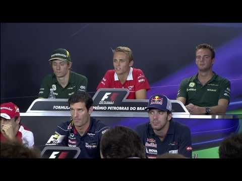 Formula1 Round19 Brazil F1 Drivers Press Conference 720p English
