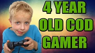 4 YEAR OLD COD GAMER (Call of Duty Live)