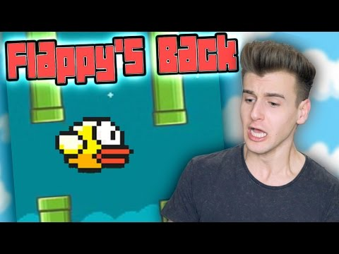Flappys Back! (Playing Flappy Bird)