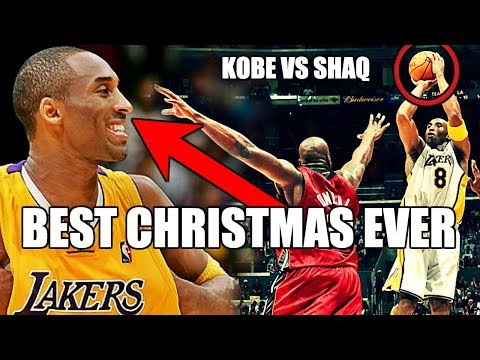 The Time Kobe and Shaq Played Each Other on NBA Christmas Day