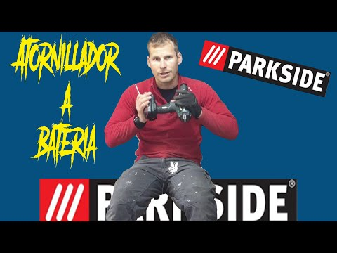 #PARKSIDE - Atornillador a batería - Nada que envidiar a los demás atornilladores de...
