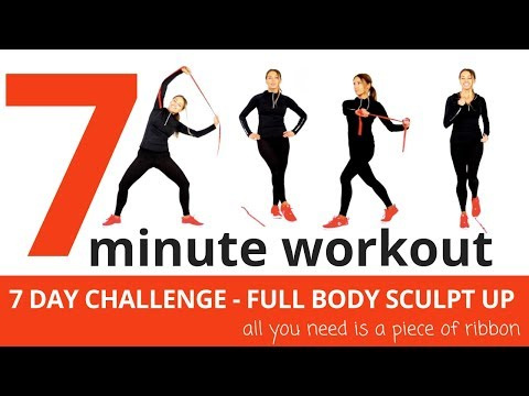 7 MINUTE WORKOUT – FULL BODY HOME  WORKOUT – SHAPE UP & LOSE WEIGHT IN JUST 7 DAYS – START NOW