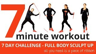 7 MINUTE WORKOUT - FULL BODY HOME WORKOUT - SHAPE UP & LOSE WEIGHT IN JUST 7 DAYS - START NOW